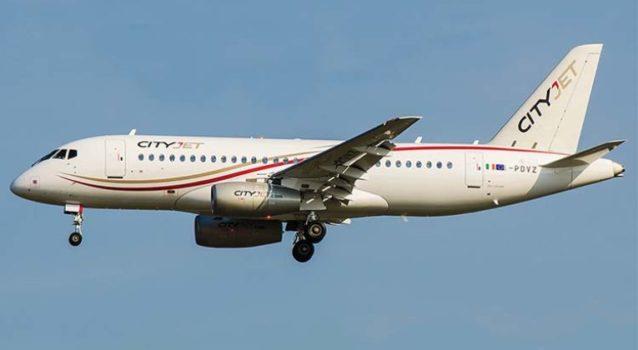 City Jet Sukhoi superjet