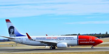Vinderen af 2.500 Norwegian Reward Cashpoints Norwegian konkurrence