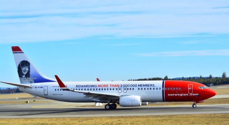 Vinderen af 2.500 Norwegian Reward Cashpoints Norwegian konkurrence