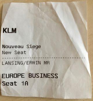 Anmeldelse: KLM Cityhopper Fokker F70 business class