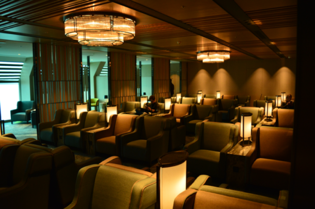 Japan Airlines lounge Taipei