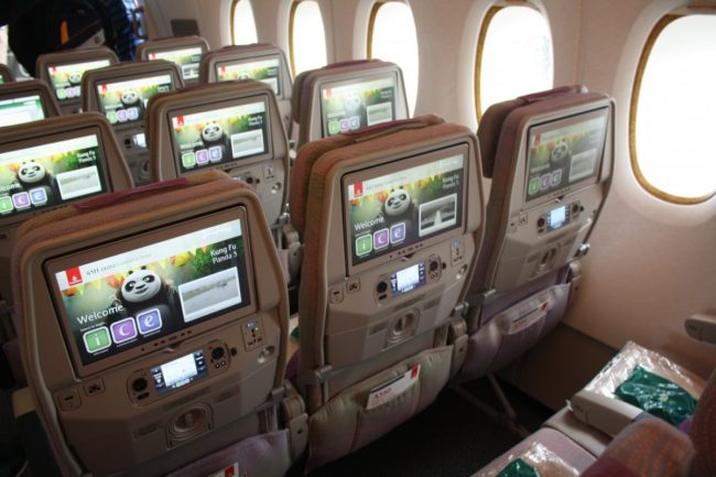 Emirates' fremragende underholdningssystem