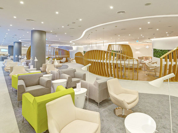 Skyteam lounge i Dubai