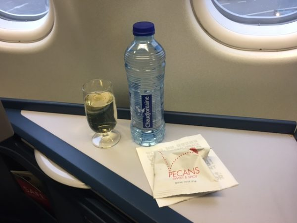 Delta One business class fra Amsterdam til Seattle