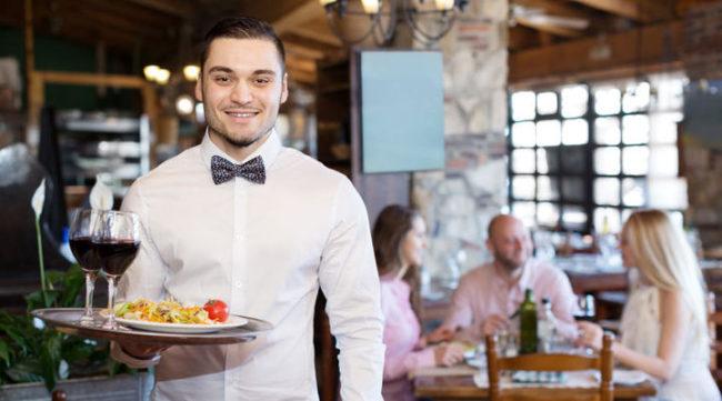 Tjener restaurant