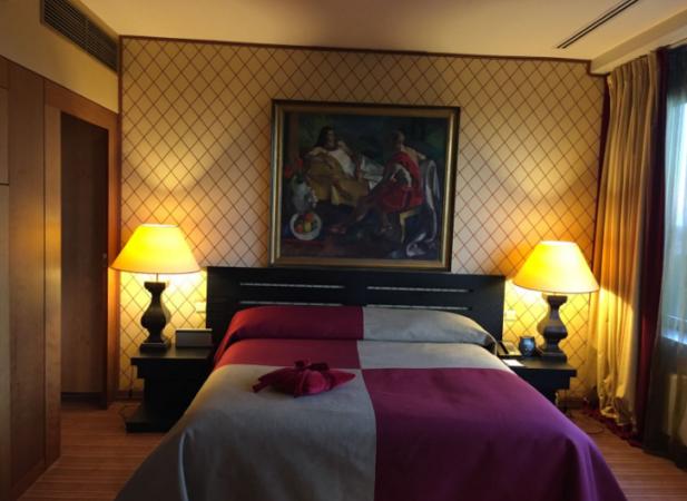 Hilton Amsterdam suite