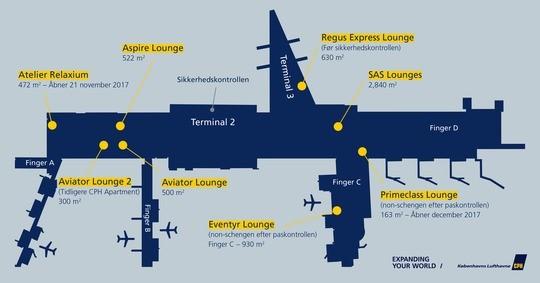 Kobenhavns Lufthavn Har Snart 8 Lounges Du Som Rejsende Kan Besoge