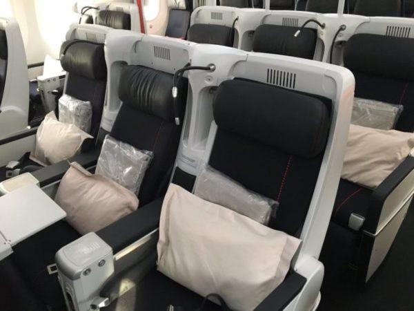 Air France 787 premium economy