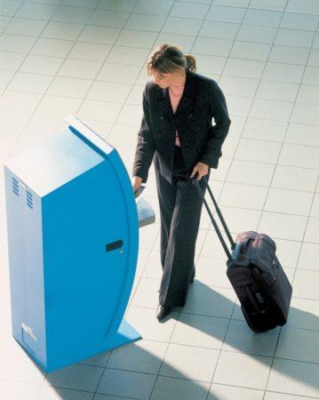 KLM e_check automat