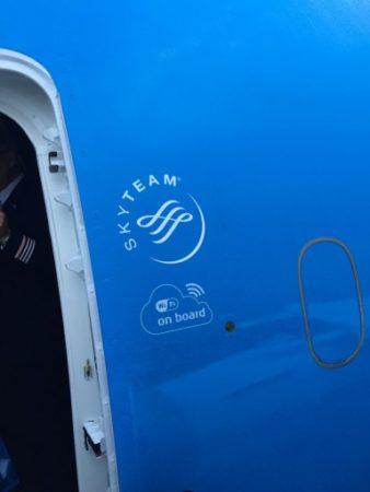 KLM wifi