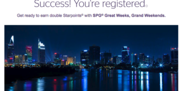 SPG Great Weeks Grand Weekends