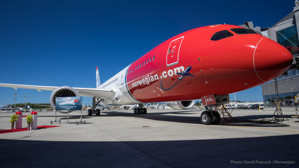 Norwegian har sat hastighedsrekord over atlanten