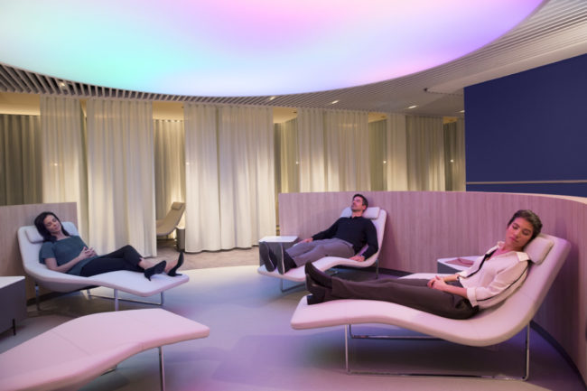 Air France Instant relaxation
