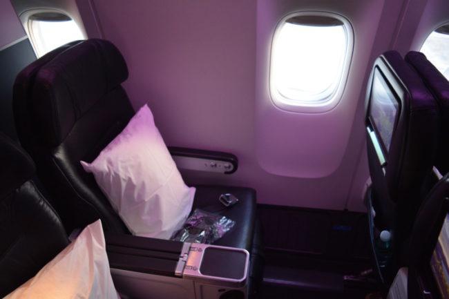 Air New Zealand premium economy class