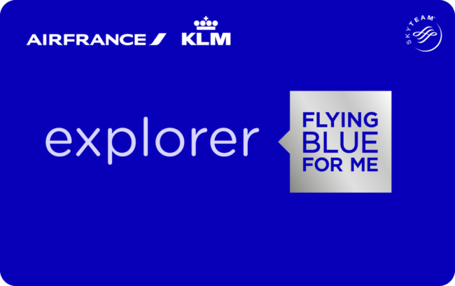 Flying Blue Explorer kort