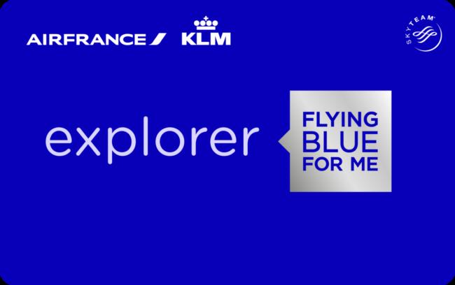 Flying Blue Explorer kort