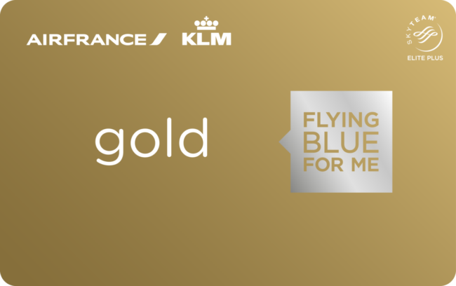 Flying Blue Gold card