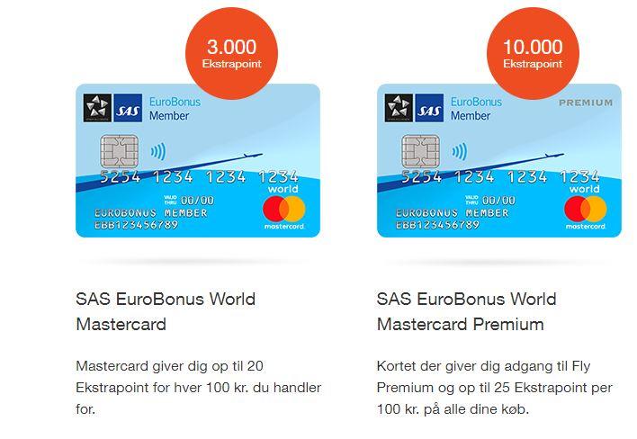 Sas mastercard premium