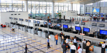 International-Check-in-Counters-Hyderabad-Airport-India