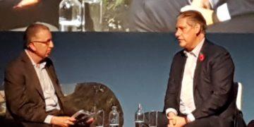 John Strickland interviewer EasyJet CEOJohan Lundgren