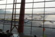 View fra BGS Premier Lounge PEK