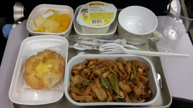 Air China, Noodles with chicken