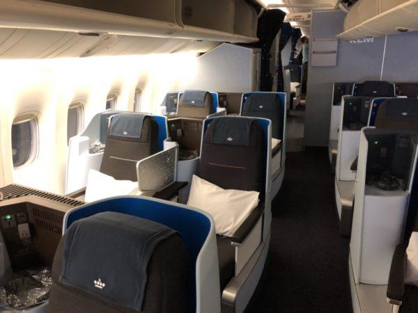 KLM Business Class 777