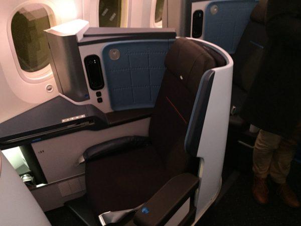 KLM Business Class 787