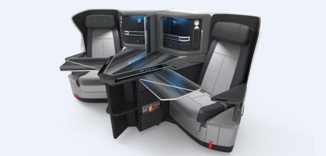 KLM Business Class 787-10