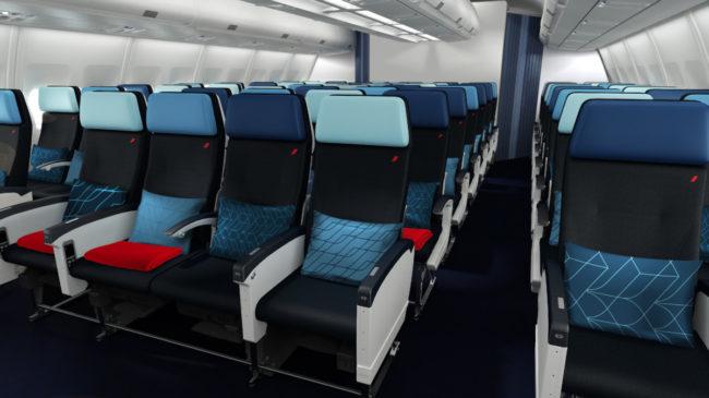 Air France A330 economy class