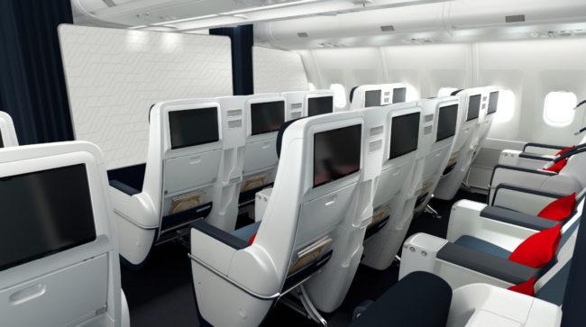 Air France A330 premium economy class