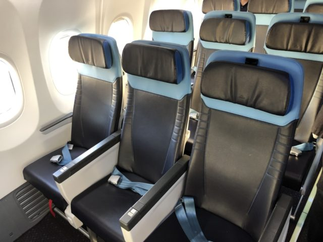 KLM 737-800 Sky Interior