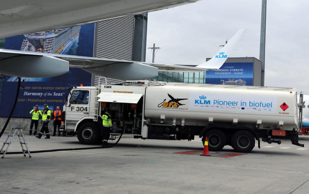 KLM Biofuel  Billede: KLM