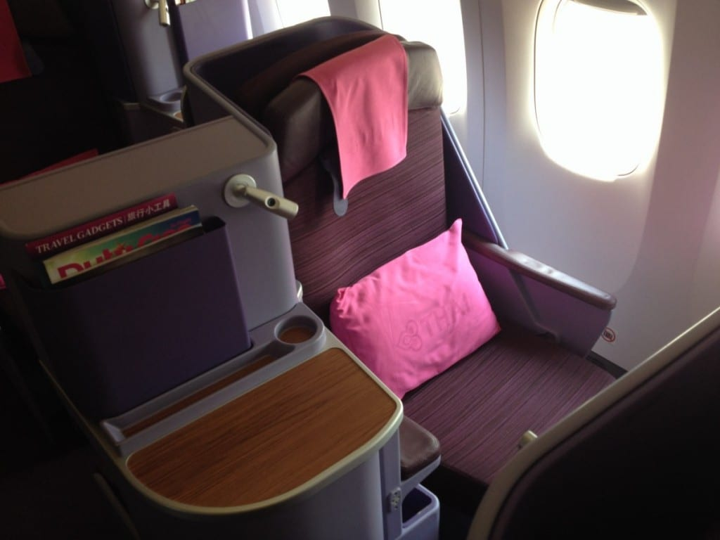 Bonusfeber - Thai Airways Business Class
