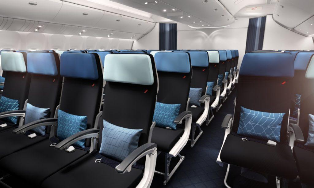 Air France 777 Carribean economy class