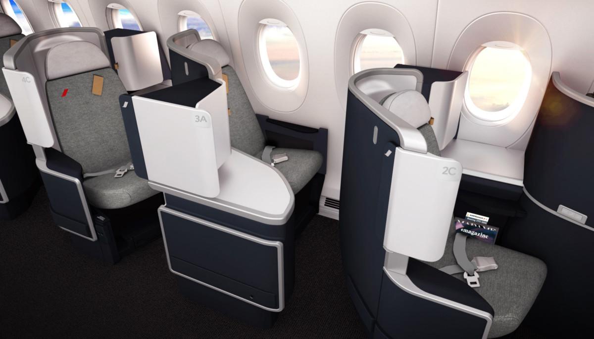Air France Boeing 777 Carribean business class