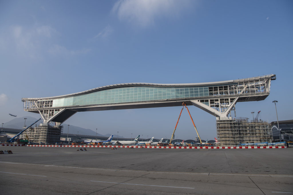 Sky Bridge Hong Kong Airport