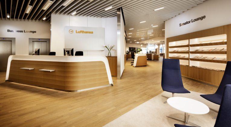Lufthansa åbner de første lounger i Frankfurt og...