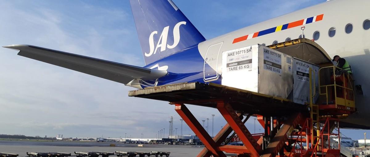 Blue Water Shipping og SAS laver fragtaftale om...