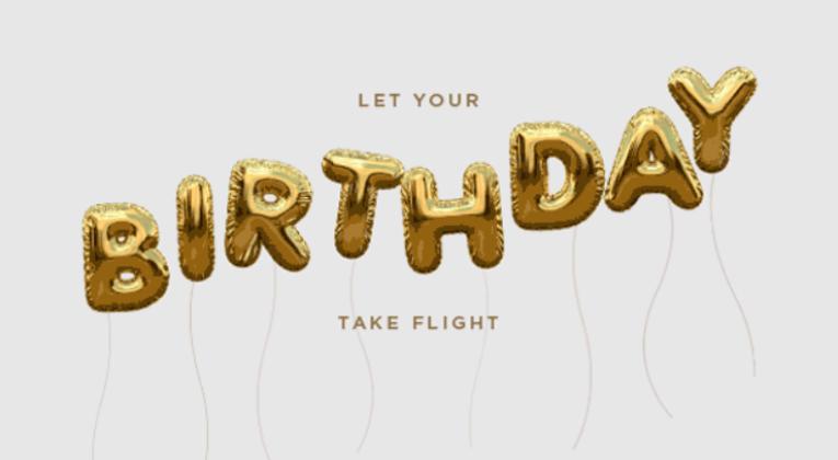 Hold øje med fødselsdagsgaven fra Singapore Airlines KrisFlyer...