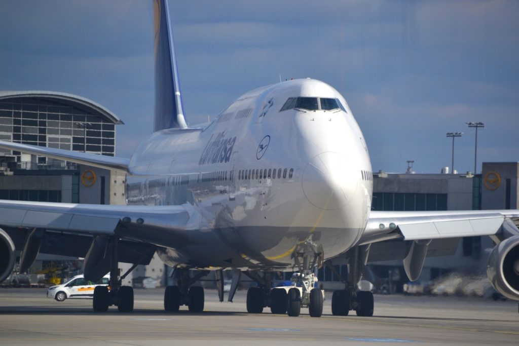 Lufthansa Boeing 747.