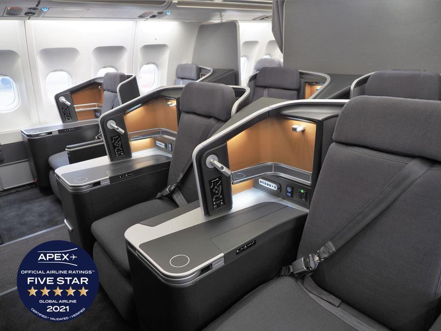 SAS - APEX Five Star Airline 2021