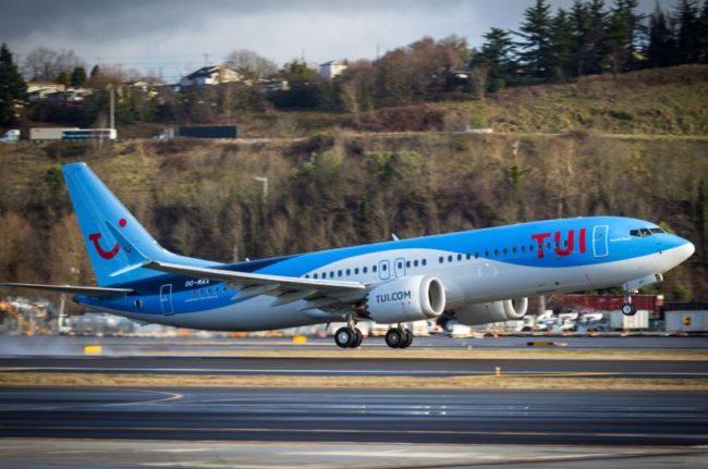TUI Boeing 737 MAX
