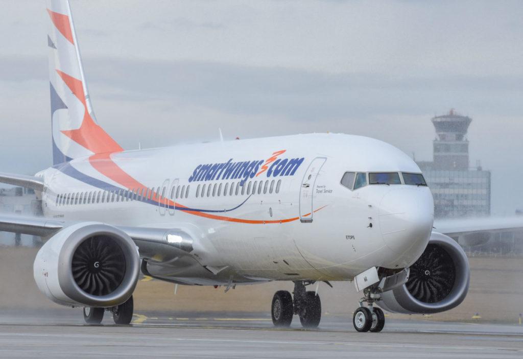 Smartwings Boeing 737 MAX (Billede: Smartwings)