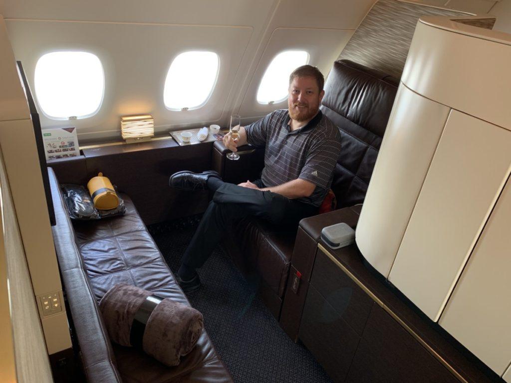 Etihad Airways First Class Apartment Seat