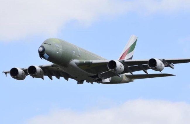 Airbus A380 - MSN272 - Emirates - Final plane