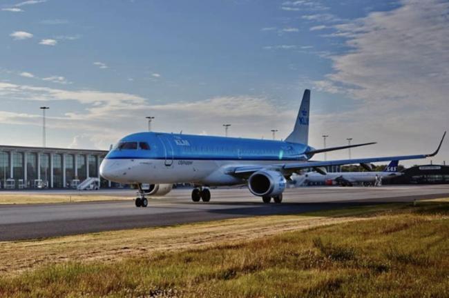 Aalborg Lufthavn og KLM