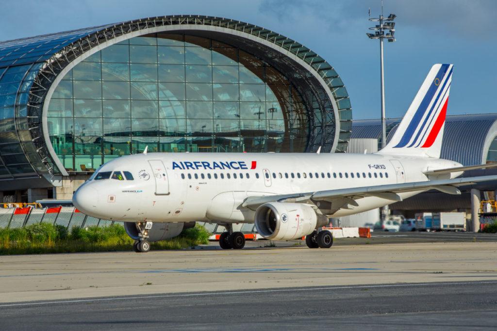 Air France Airbus A319 (Billede: Air France)