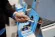 Self-Service Automat i lufthavn