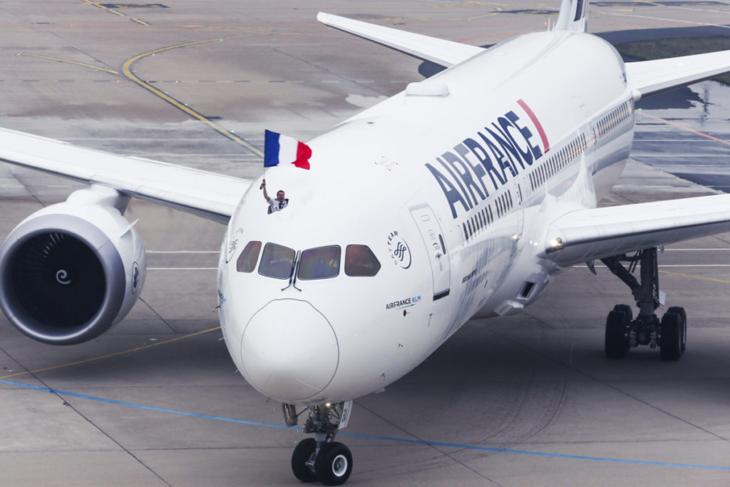 Air France Boeing 787 Dreamliner (Billede: Air France)B